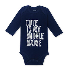 Infant Boys Clothes Babies Girls Romper Newborn Toddler 3-24 Months Long Sleeve Baby Body One Piece Rompers все цены