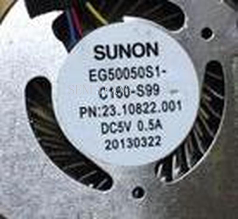 Laptop Cpu Cooling Fan For Acer Aspire S3 FAN 23.10822.001 Cooler EG50050S1-C160-S99