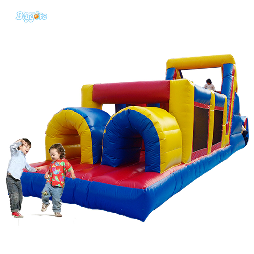 FREE SHIPPING BY SEA Giant PVC Inflatable Bouncer Jumping House Inflatable Obstacle Course Combo For Sale 6 4 4m bounce house combo pool and slide used commercial bounce houses for sale