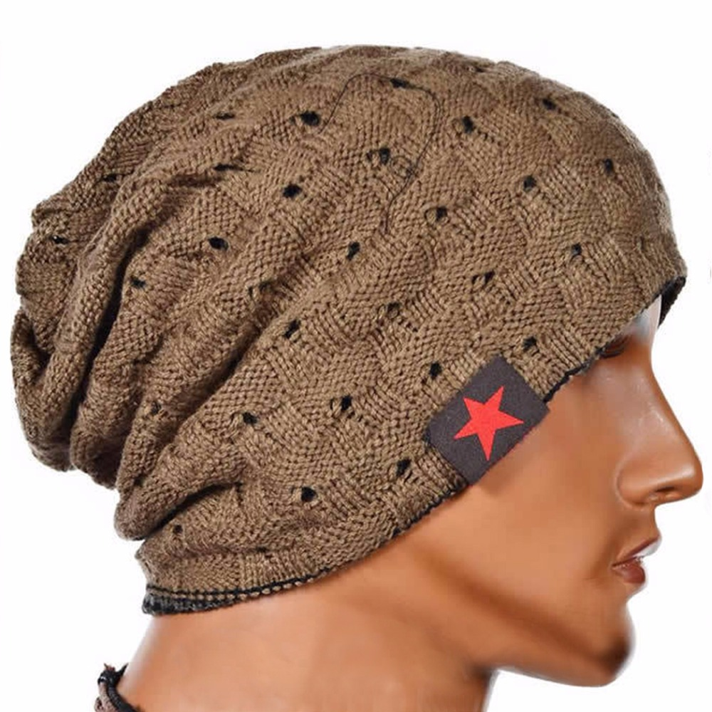 Autumn Winter Warm Beanie Hats for Men Women Fashion Casual Knitted Reversible Baggy Cap Unisex Hat free shipping fashion 2014 new winter beanies for man women woolen knitted baggy hats casual cap warm hats autumn 5colors