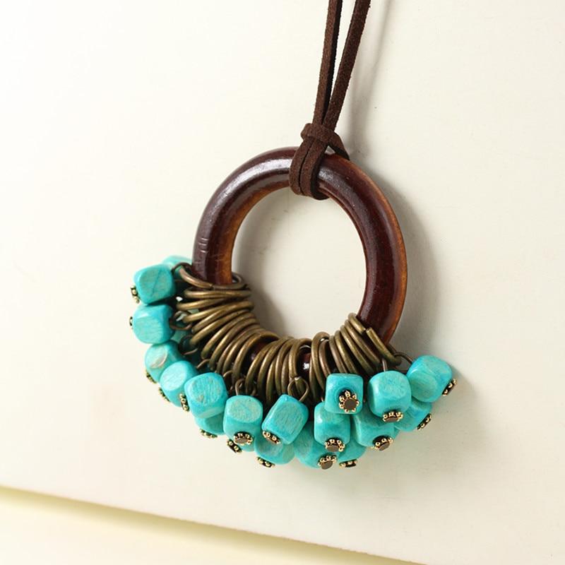 vintage kvinna smycken uttalande halsband och hängen, långa - Märkessmycken - Foto 4