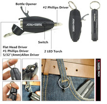 Swiss + Tech 7 In 1 Multi-function Survival Tool