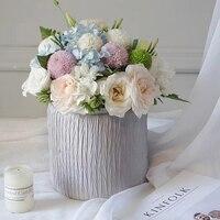 2ชิ้นสร้างสรรค์กอดถังกล่องดอกไม้ช่อบรรจุภัณฑ์ร้านดอกไม้อุปกรณ์วัสดุการจัดดอกไม้กล่องขอ...