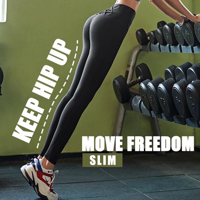 Breathable High Waist Elastic Slim Leggings