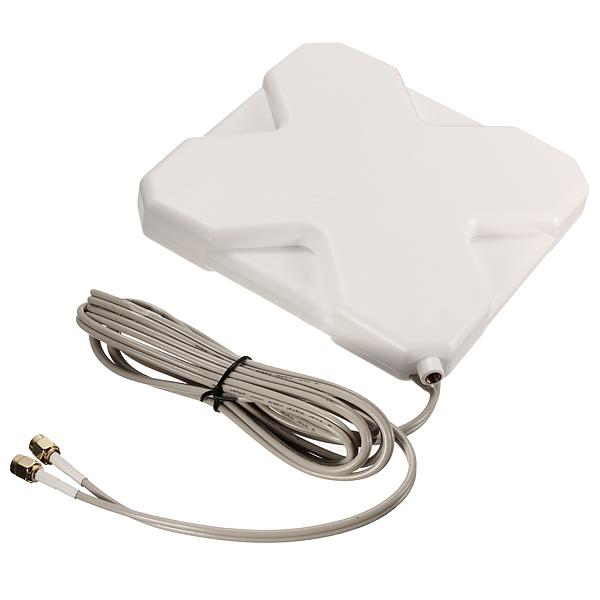 цена на PROMOTION! Hot GPRS GSM 4G LTE 35dBi Antenna Booster Signal SMA Male Plug 2M Cable