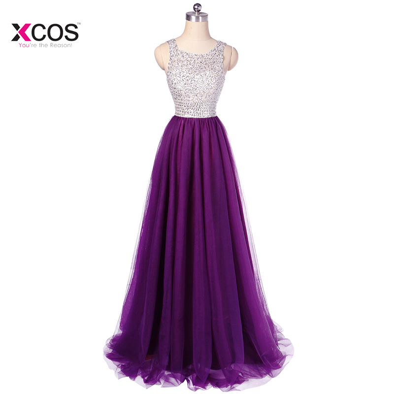 Latest Ombre Prom Dress One Shoulder Gradient Evening Dresses Beads ...