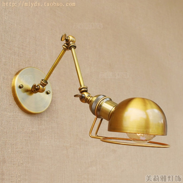 Adjustable Swing Long Arm Wall Lamp Loft Style Industrial Lighting Fixtures Vintage Wall Light LED Wall Sconce Apliques Pared