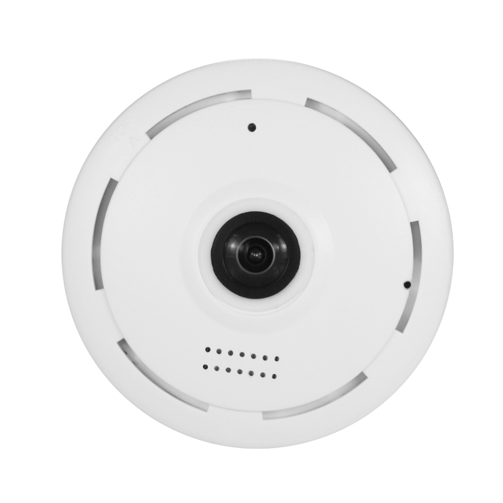 Smart home ip fish eye camera 360 degree wireless camera WIFI network camera night vision mini wireless baby monitor new wireless remote control baby monitor with night vision intercom voice wifi network ip camera electronic for smart phone