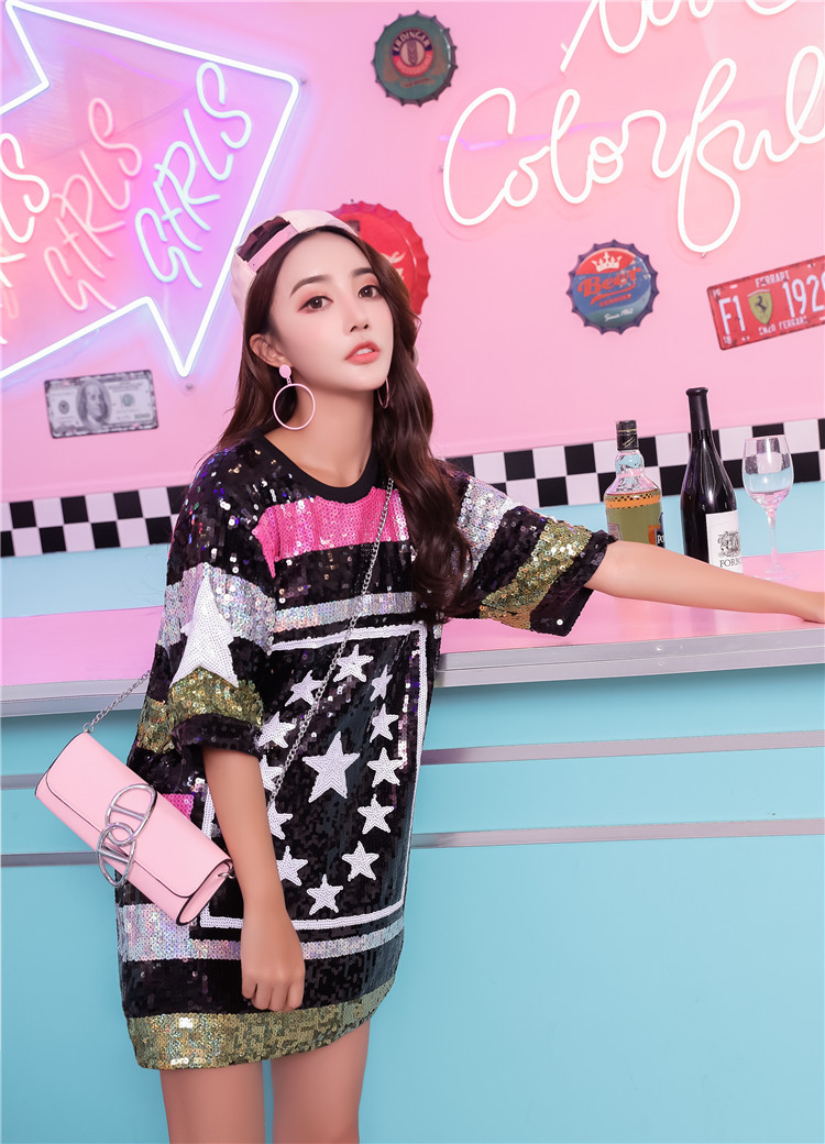 Buy sequins hip hop dress and get free shipping on AliExpress.com 339ac77e426f
