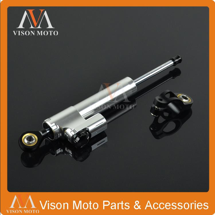 CNC Steering Damper Stabilizer Linear Reversed Safety Control For Aprilia Tuono Capanord1200 Falco SL1000 RSV Mille RST1000 RSV4