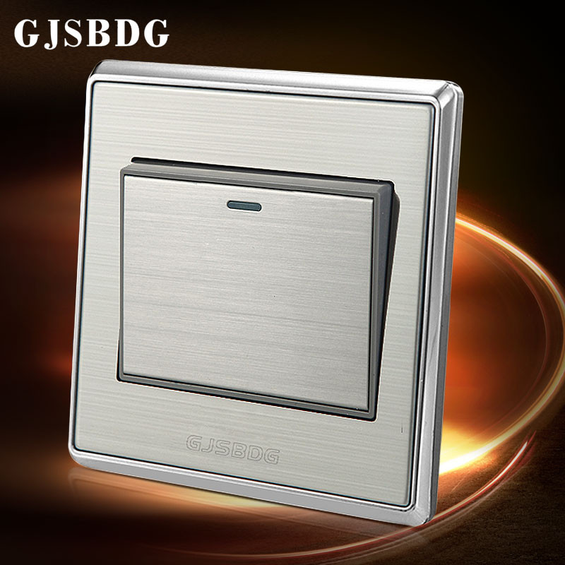 Half Price Sale Home Decor 1 Gang 1 Way GJSBDG Wall Switch Panel A ...