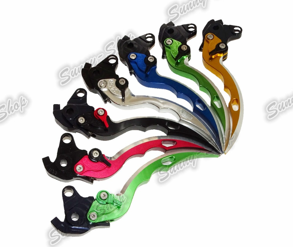 waase 9 Color CNC Brake Clutch Levers Blade For BMW F650GS F800GS F800R F800GT F800ST F800S F700GS F 650 700 800 GS 9 color cnc brake clutch levers blade for 2000 2001 honda cbr929rr cbr 929 rr