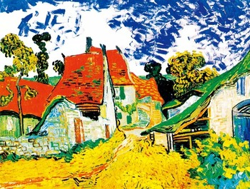 14/16/18/27/28 Country Road Van Gogh oil painting Handmade Needlework Embroidery DIY DMC Cross Stitch Kit Crafts image