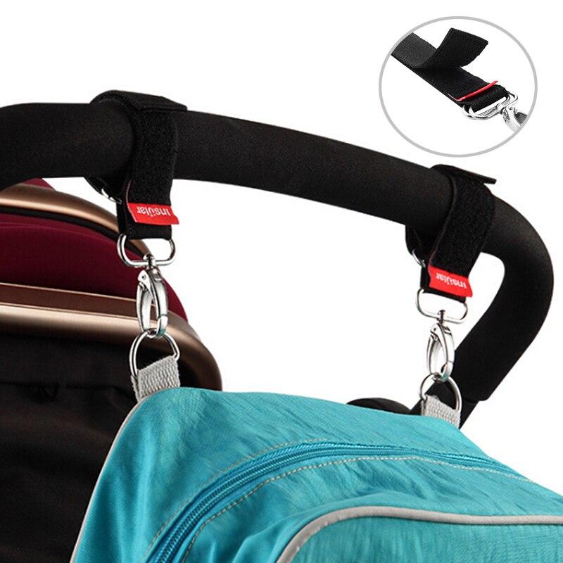 1 Pairs Baby Stroller Hooks Baby Stroller Accessories Car Hanger Hooks Pram Pushchair Buggy Hanging Straps