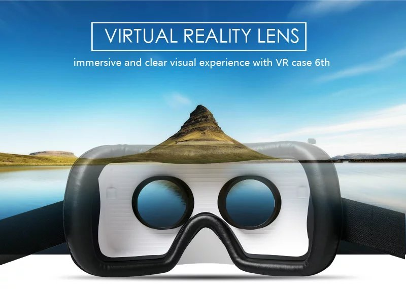 Virtual Reality Glasses VR Box Rirtual Reality Helmet Touch Function 3D Glasses VR Wearing Equipment 12