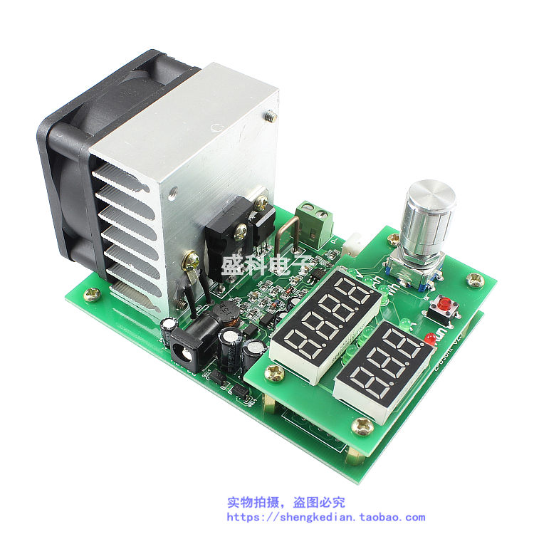 60W multi function constant current electronic load aging module 10A30V power battery capacity tester