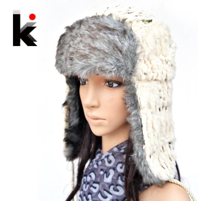 Free Shopping 2018 Fashion Wool Crochet Hats For Women Winter