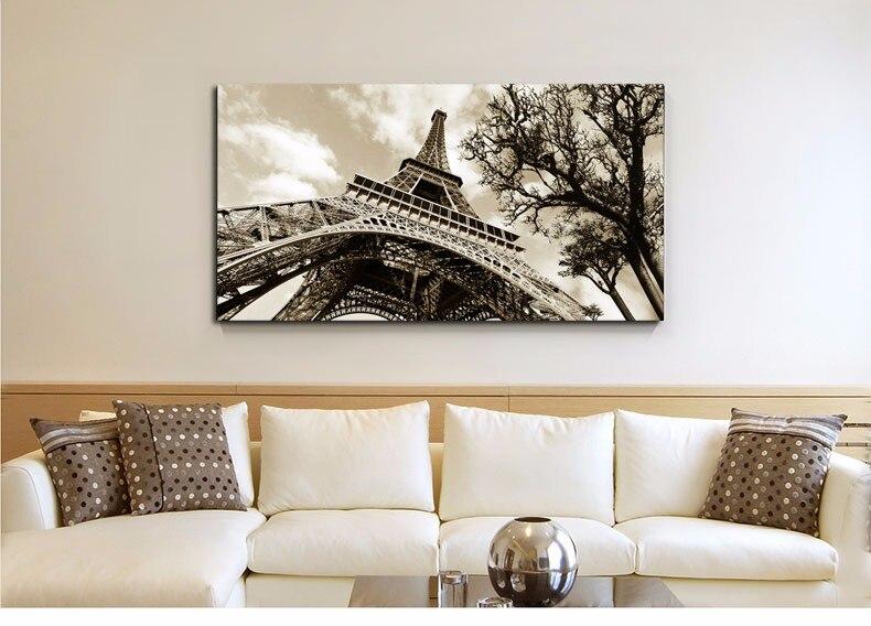 online kopen wholesale eiffeltoren canvas schilderij uit china, Meubels Ideeën