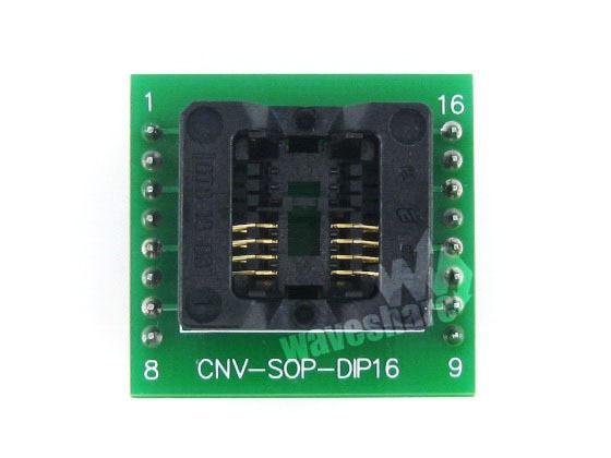 module Waveshare SOP8 TO DIP8 Enplas IC Programming Adapter Test Burn-in Sockfor SOP8 SO8 SOIC8 Package g5657a ic sop 8