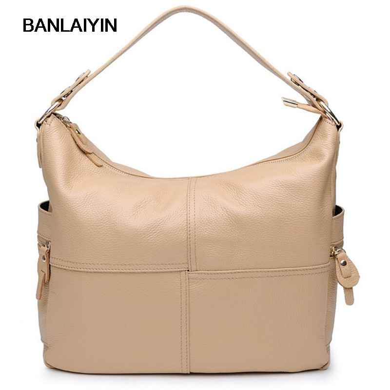 Genuine Women Leather Handbag Famous Brand Europe Luxury Real Leather Lady Fashion Shoulder Bags Tote Messenger Bag 2016 new fashion women s messenger bags famous brand handbag leather lady shoulder bags clutches diagonal mochila casual tote