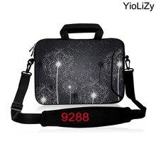 Dandelion briefcase 10 12 13.3 14 15.6 17.3 inch Laptop Shoulder Bag Ultrabook Messenger case Handbag Notebook Sleeve SB-9288