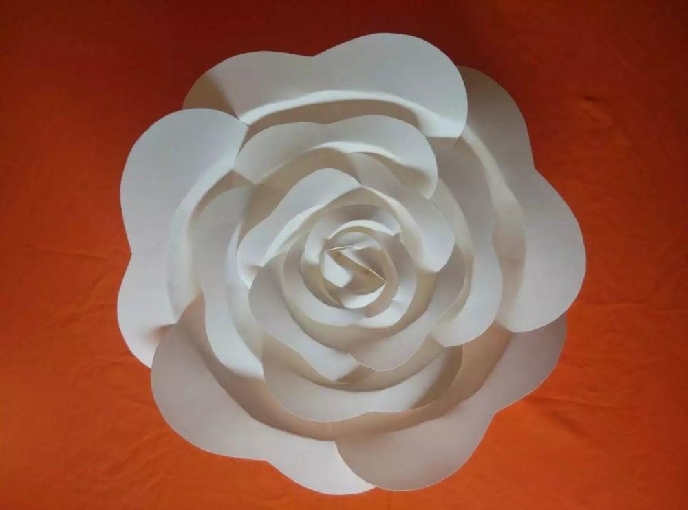 Künstliche Blumen Große Papierblumen Dekoration Papierblumen - Partyartikel und Dekoration - Foto 2