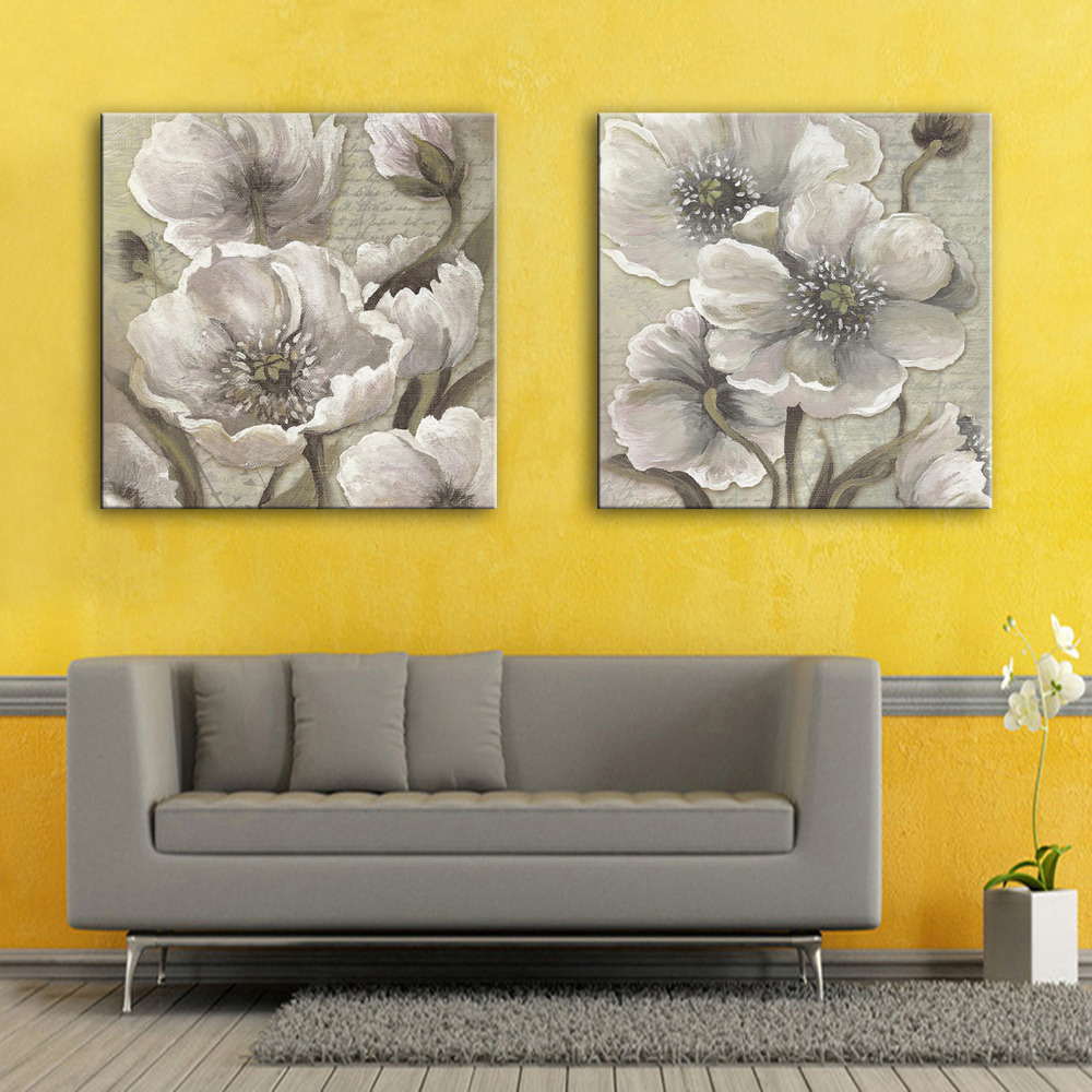 HD Flowers Canvas Art Print Painting Poster, Print Wall Pictures For ...
