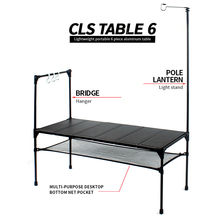 купить Folding tables outdoor portable light picnic table self-driving wild aluminum barbecue camping Splicable table дешево