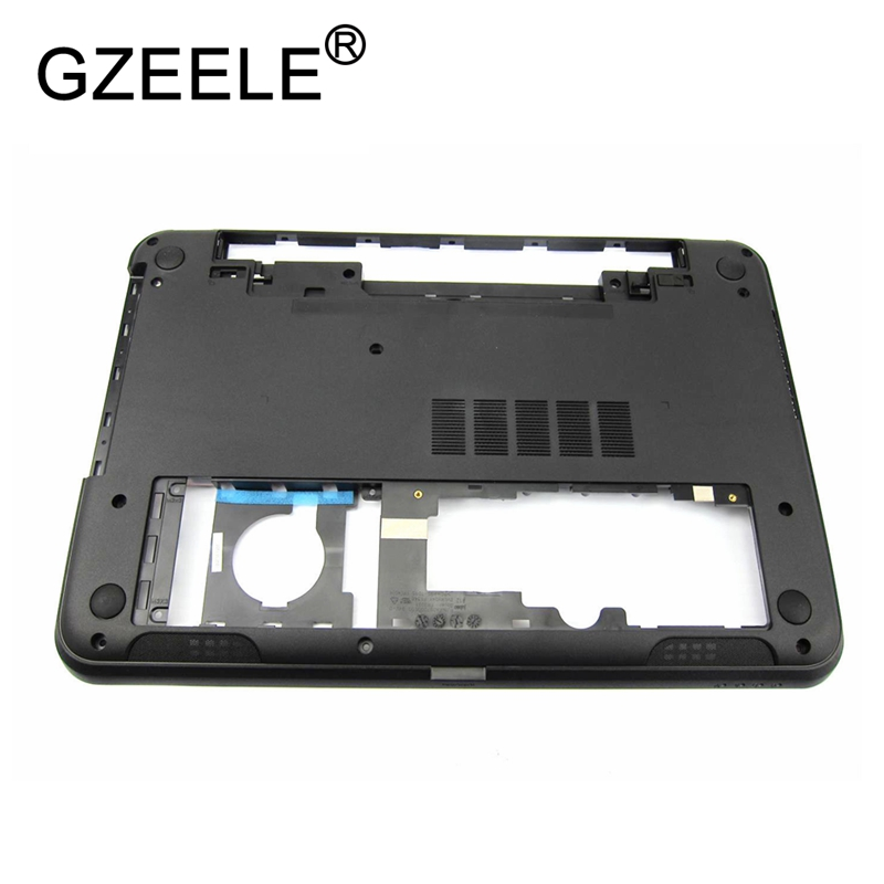 GZEELE new For Dell Inspiron 15R-5521 3521 5535 5537 Bottom Base Cover 0YXMG9 AP0SZ000410 lower case 64XVX 043JVF 15-3521 3537 new laptop hinge for dell inspiron 15 3521 5537 5537 2521 2528 3537 i15rv 1667blk 15 6 pn amosz000200 amosz000100
