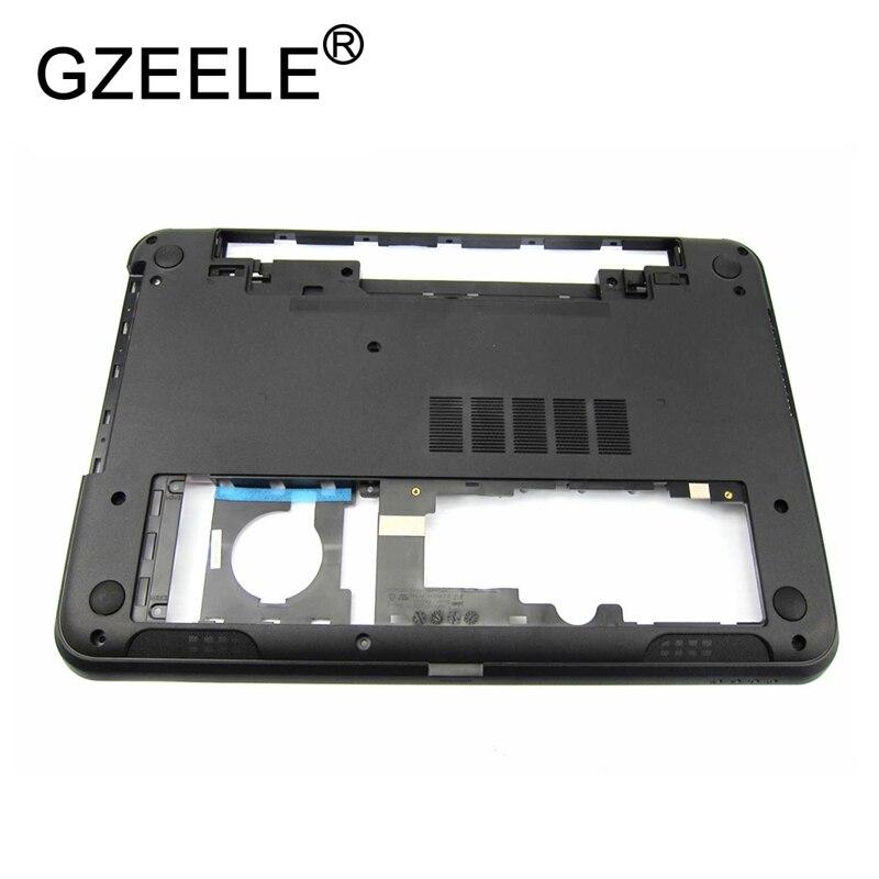GZEELE New For Dell Inspiron 15R-5521 3521 5535 5537 Bottom Base Cover 0YXMG9 AP0SZ000410 Lower Case 64XVX 043JVF 15-3521 3537