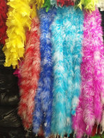 New product! 2 m / 10pcs High quality natural feather boa / trimming party / clothing / shawl / turkey feather boa