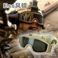 Verde Marrón negro Airsoft Tactical Goggles USMC Ejército Paintball Táctico gafas de Sol Gafas Gafas