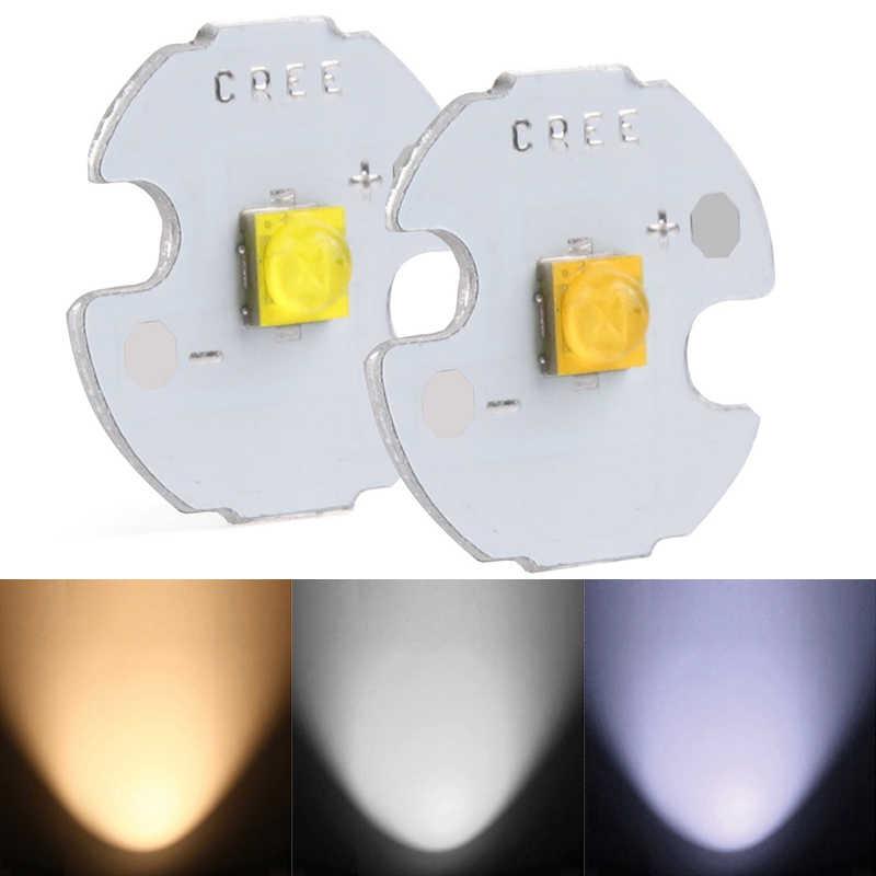 Высокое качество 10 шт. 5 Вт XTE 16 мм/20 мм светодиодный Белый мигающая лампа фонарь лампа #225303