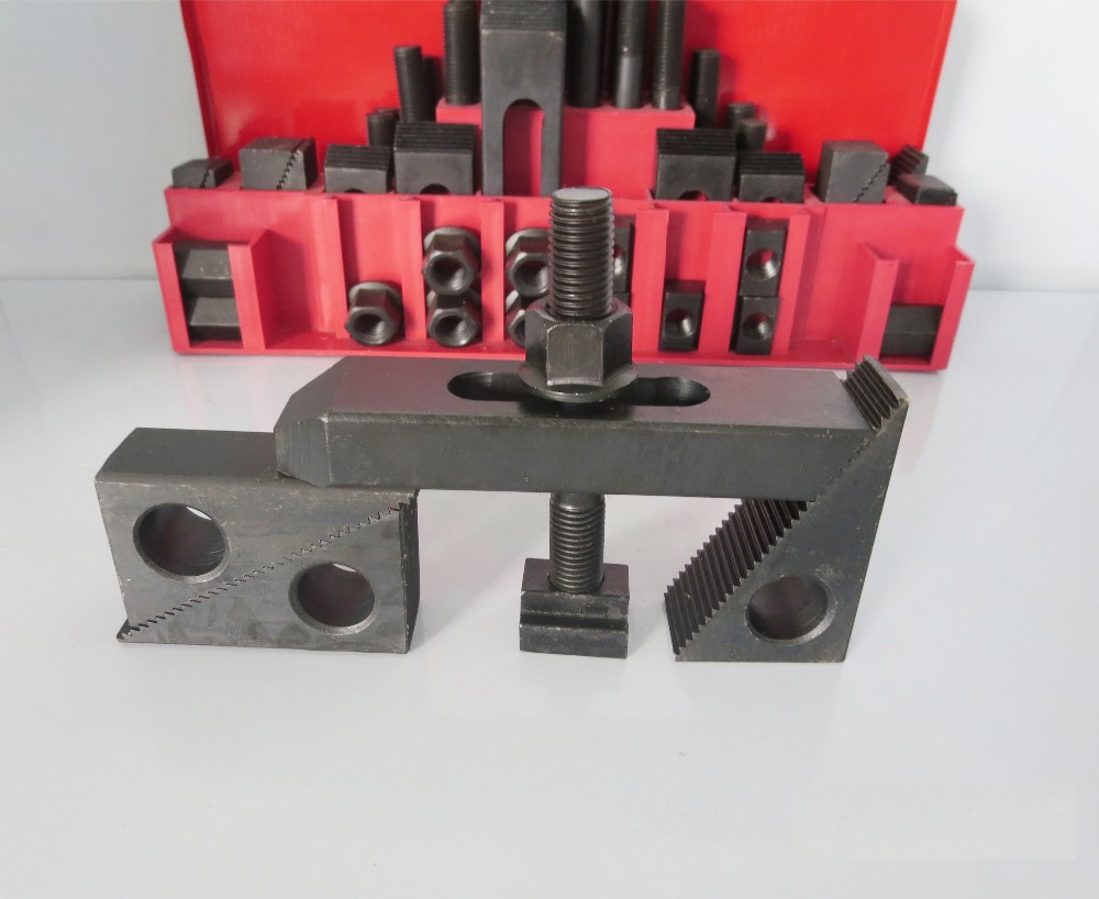 58pcs Combination plate M10 3/8 16 Clamping Kit fixture plates for ...