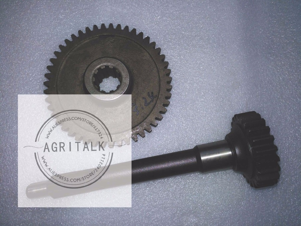 DFH180 tractor parts, the gear with shaft (the new designed gear with shaft to replace the gear 15.37.103), pat number:15.37.103