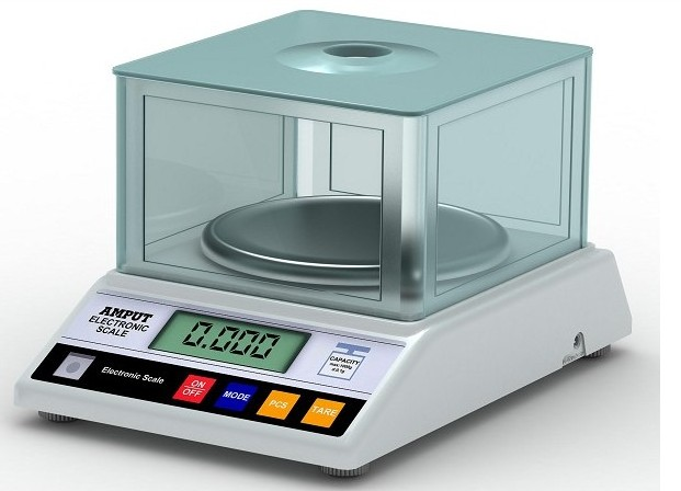 600g x 0.01g Precision Jewelry gold food weighing counting kitchen scale Laboratory analytical balance APTP457B