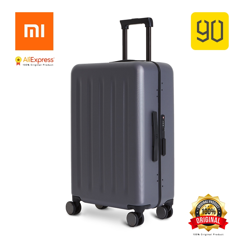 Xiaomi Eco-chain 90FUN Lightweight Aluminum Framed Suitcase PC Spinner Wheel Carry on Luggage,20/24