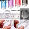 Hot 1 unids 2.8 cm Relleno De Silicona Transparente Clear Jelly Nail Stamper Nail Art Stamping Cabeza