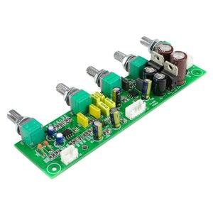 Image 3 - GHXAMP NE5532 Subwoofer Voorversterker 2.1 Voorversterker Toon Boord Treble Bass Ultra lage frequentie Onafhankelijke Aanpassing Dual AC12V 1 pc
