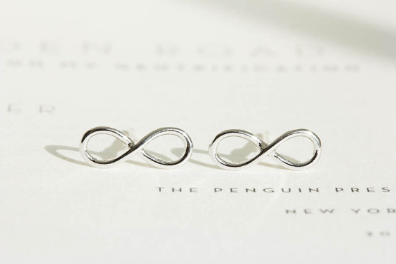 Shuangshuo 2017 New Bohemian Punk Earrings Simple Infinity Stud Earrings for Women Fashion Earrings Set Vintage Party Gifts
