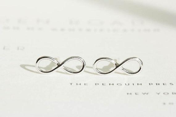 Shuangshuo 2017 New Bohemian Punk Earrings Simple Infinity Stud Earrings For Women Fashion Earrings Set Vintage Party Gifts