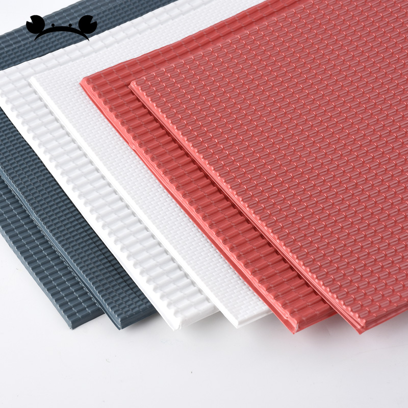 2pcs Scale Model Building Material PVC Sheet Tile Roofs 295x198mm For Architecture Layout