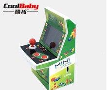 DHL 30 pçs/lote Mini Portátil Joystick de Arcade Máquina de Jogo de Arcade Clássico Estilo Retro 108 Jogo De Vídeo Embutido Console Portátil