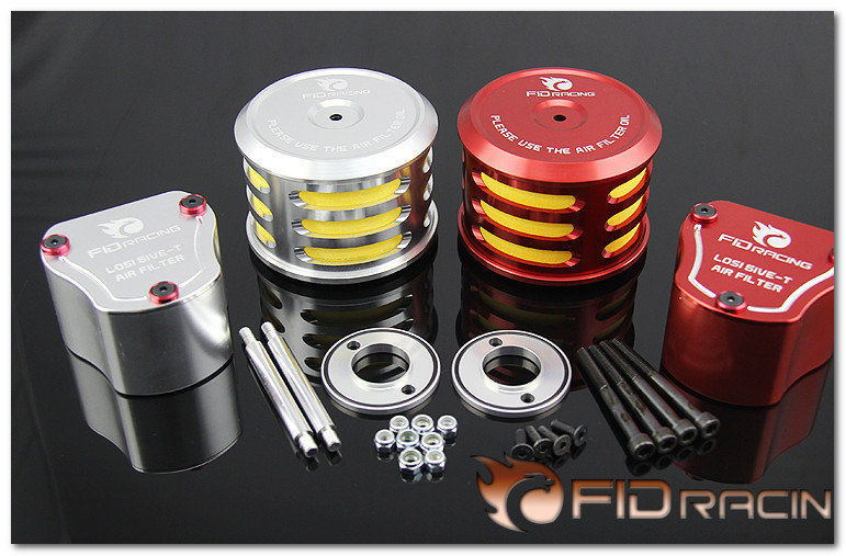 FID rotatable Gaisimake all metal vertical air filter FOR LT 5T ( sliver color. orange color choose) fid closed damping ball group rod shock absorber cap for lt 5t 1 set