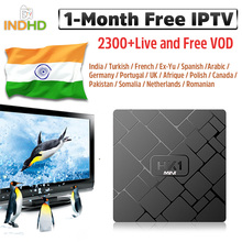 IPTV Italy France HK1 mini 1 month French Full HD Arabic Germany Subscription Android TV Box 4K Canada Portugal IP