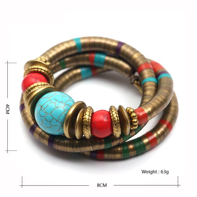Vintage Tibetan Bracelets & Bangles