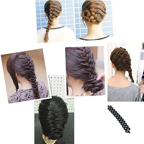 Fashion font b Hair b font Braiding font b Tool b font Roller Magic font b