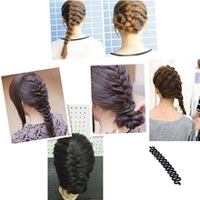 Fashion Hair Braiding Tool Roller Magic hair Twist Styling Bun Maker Hair Tool