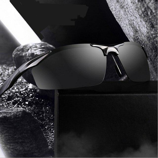 d78b04b4f0 Aluminum Magnesium Brand Designer Polarized Sunglasses Men Glasses Driving  Glasses Summer 2017 Eyewear Accessories 2206
