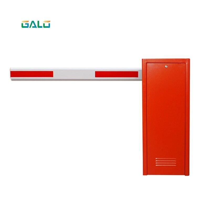 Système de porte de barrière électrique de stationnement automatisé résistant rouge